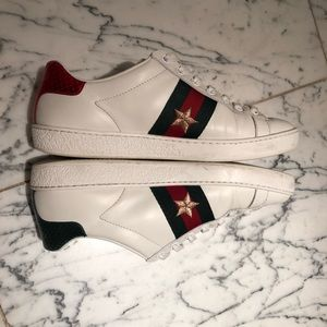 Gucci Shoes - Gucci Ace embroidered sneaker - size 35.5 (~6-6.5)